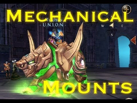 Order & Chaos: Mechanical Mounts [How To Get]