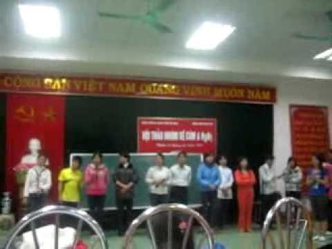 DH Y THAI BINH - BV DA KHOA TINH HA NAM hat mua RANG RO VIET NAM.flv