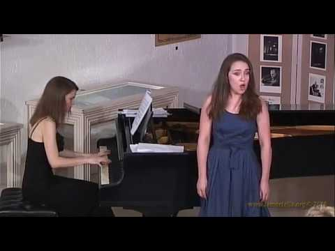 "Aleksandra Papenkova esegue L. Arditi - ""Il bacio"""