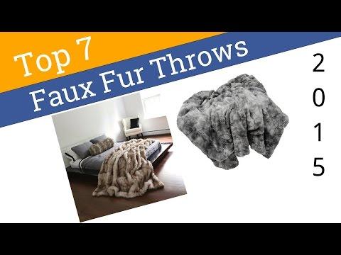 7 Best Faux Fur Throws 2015