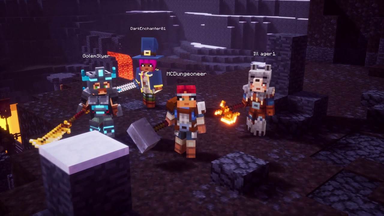 Minecraft Dungeons E3 2019 Gameplay Reveal Trailer Youtube