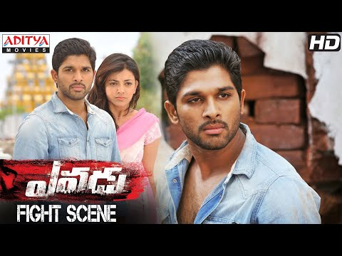 Yevadu Movie || Allu Arjun Ultimate Fight Scene || Allu Arjun, Kajal Aggarwal