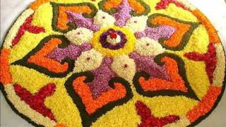 Simple Rangoli Festival Flower - Set Of Pictures