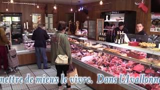 La réouverture du marché d'Avallon (89)