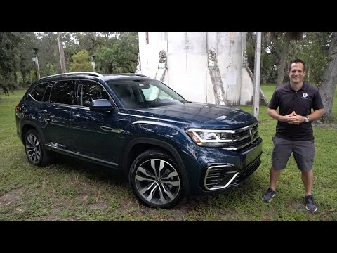 Is the updated 2021 VW Atlas a BETTER SUV than the Kia Telluride?