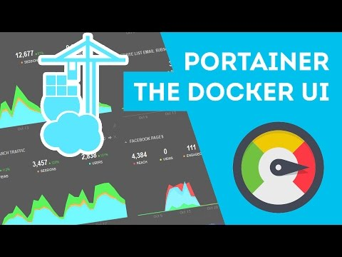 Putting a UI around Docker with Portainer