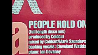 "COLDCUT feat. LISA STANSFIELD. ""People Hold On"". 1989. vinyl 12"" Full Lenght Disco Mix."