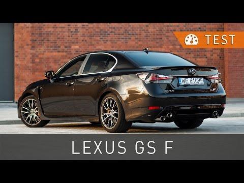 Lexus GS F 5.0 V8 477 KM (2016) - test [PL] [review ENG sub] | Project Automotive