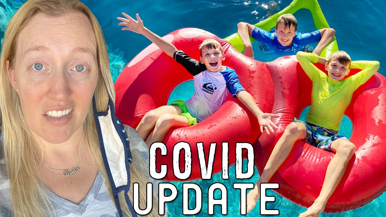 Covid Update, Giving to Others & Swimming || Mommy Monday
