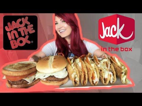MUKBANG JACK IN BOX EATING SHOW WATCH ME EAT *BURPING* VEGAN
