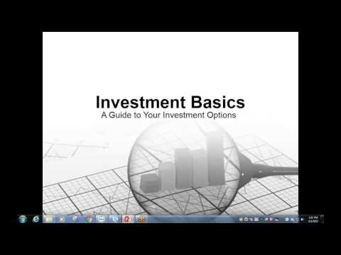 Investing Basics Webinar