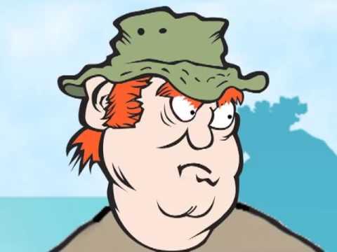 Funny Fishing Stories Cartoon || Gary Cartoonist