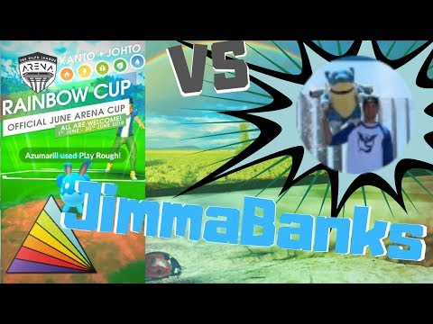 Rainbow Cup Battles   Vs JimmaBanks   + Commentary!