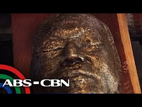 Ninoy's death mask on display in Pampanga museum