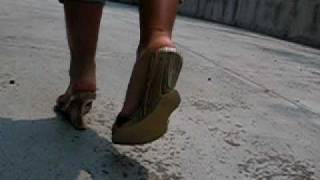 Walking around in Wedges - SMACK sound