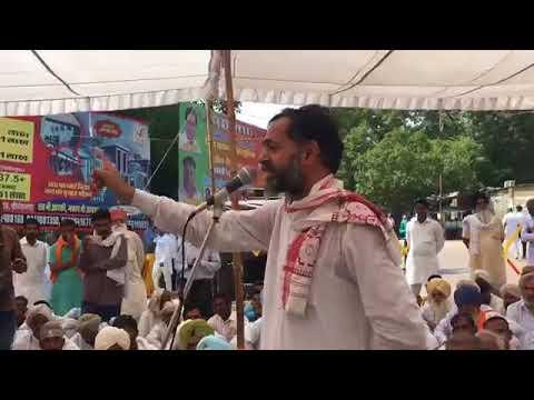 Farmers leader Yogendra Yadav's historic speech in Rajasthan