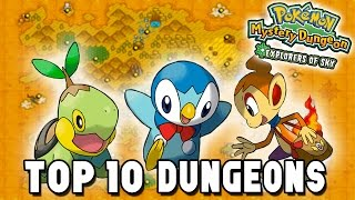 Top 10 Dungeons - Pokémon Mystery Dungeon: Explorers of Time/Darkness/Sky