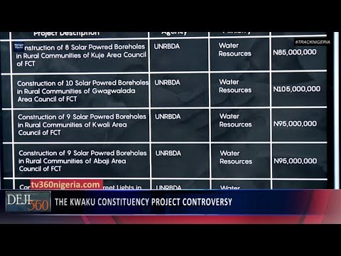 #TrackNigeria: The  Controversial Kwaku Constituency Project