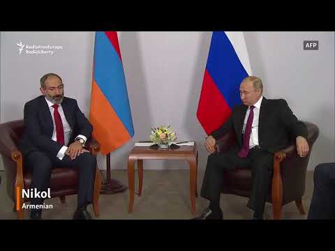 Pashinian Assures Putin Of 'Strategic Alliance'