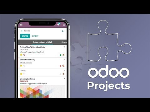 Odoo Project - Agile, and Open Source Project Management