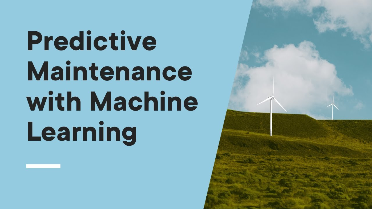 Predictive Maintenance with Machine Learning algorithms