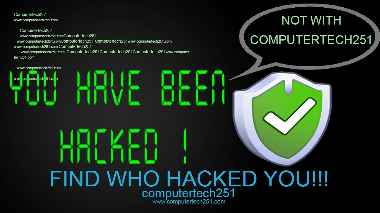 How To Find If Someone Hacked Your Computer Hd Youtube