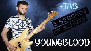 5 Seconds Of Summer - Youngblood (Bass Cover + TAB) Video