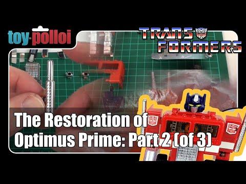 Fix it guide - The restoration of Optimus Prime part 2/3