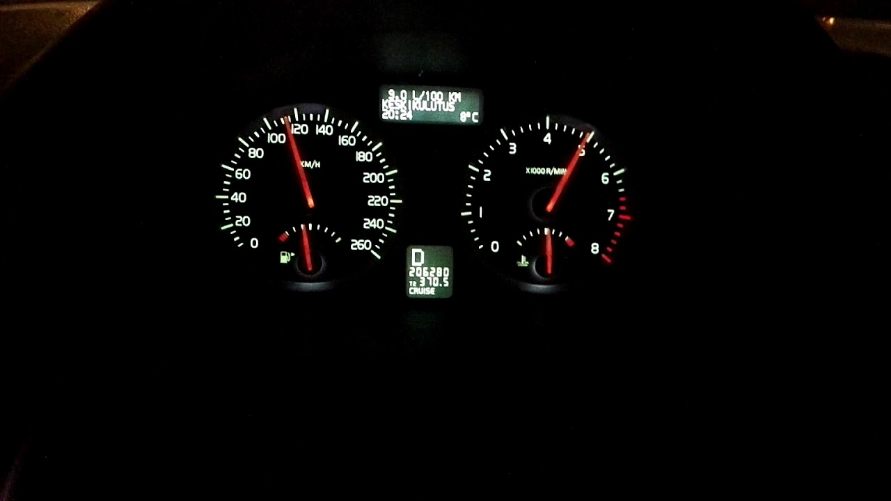 Volvo S40 T5 Celtic Tuning Stage 1 60-180kmh acceleration