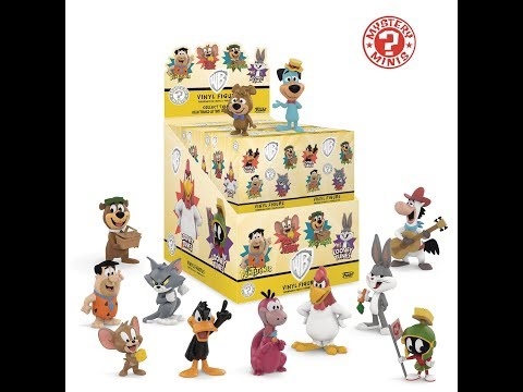 Opening Entire Case of Funko Warner Bros (Saturday Morning Cartoons) Mystery Minis Blind Box