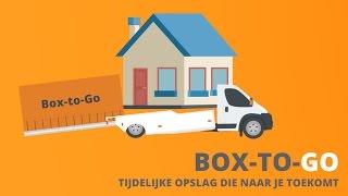 Box-to-Go, tijdelijke opslag die naar je toe komt