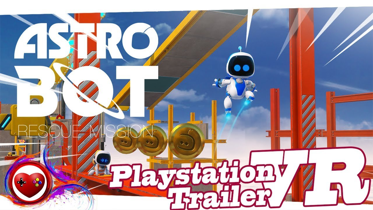 Astro Bot Rescue Mission | Playstation VR | FULL HD 1080 | PS4 VR | Best VR  Game 2018 - 2019