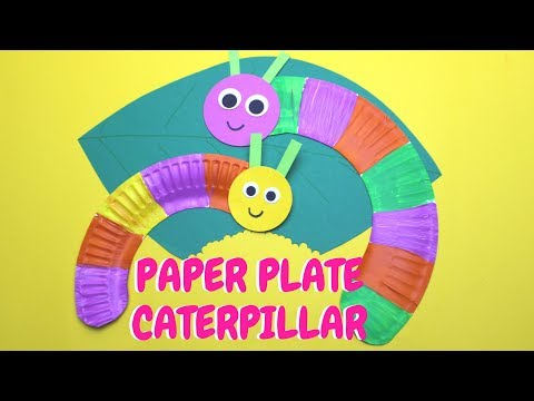 How to Make a Paper Plate Caterpillar | Fun Craft for Kids  sc 1 st  Myweb & Paper Plate Art Ideas (week videos) - MyWeb