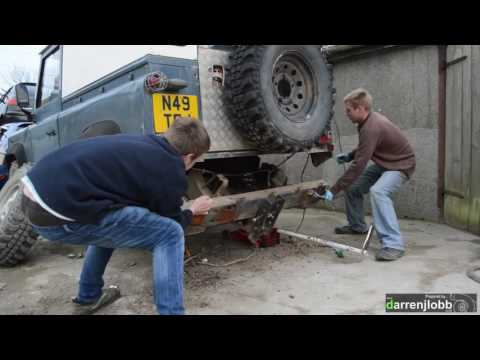 Land Rover Rear Chassis Replacement