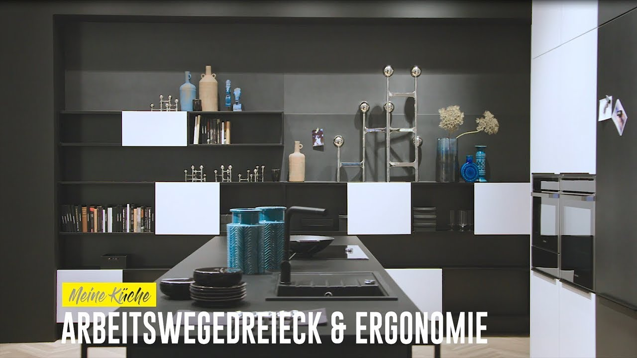 My Nolte kitchen with Eva Brenner: tips for planning your kitchen – Work  triangle & ergonomics