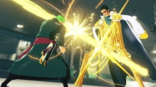 One Piece World Seeker - Zoro vs Kizaru & Kagero Boss Battle Gameplay! The Void Mirror Prototype DLC