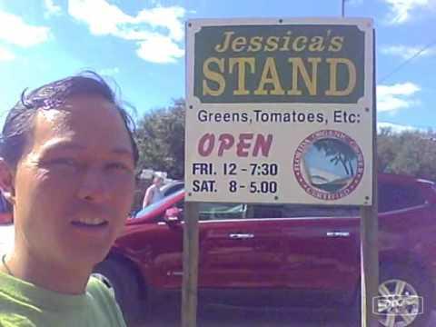 Jessica's Organic Farm Stand in Sarasota Florida - Fresh locally grown produce