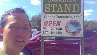 Jessica's Organic Farm Stand in Sarasota Florida - Fresh locally grown produce