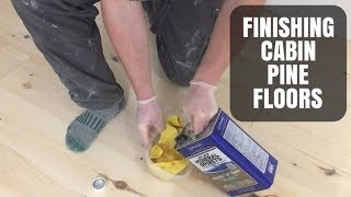 Can You Use Mineral Spirits As Prestain Conditioner? Cabin Pine Floors