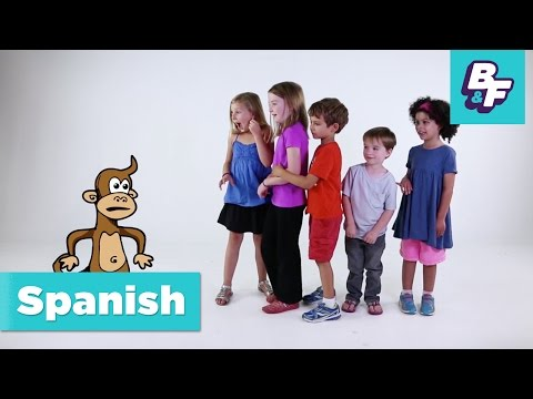 Learn Spanish parts of the body with BASHO & FRIENDS [Episode Version]