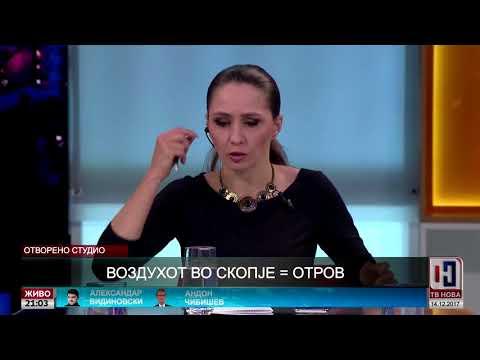 Отворено студио: Воздухот во Скопје=отров
