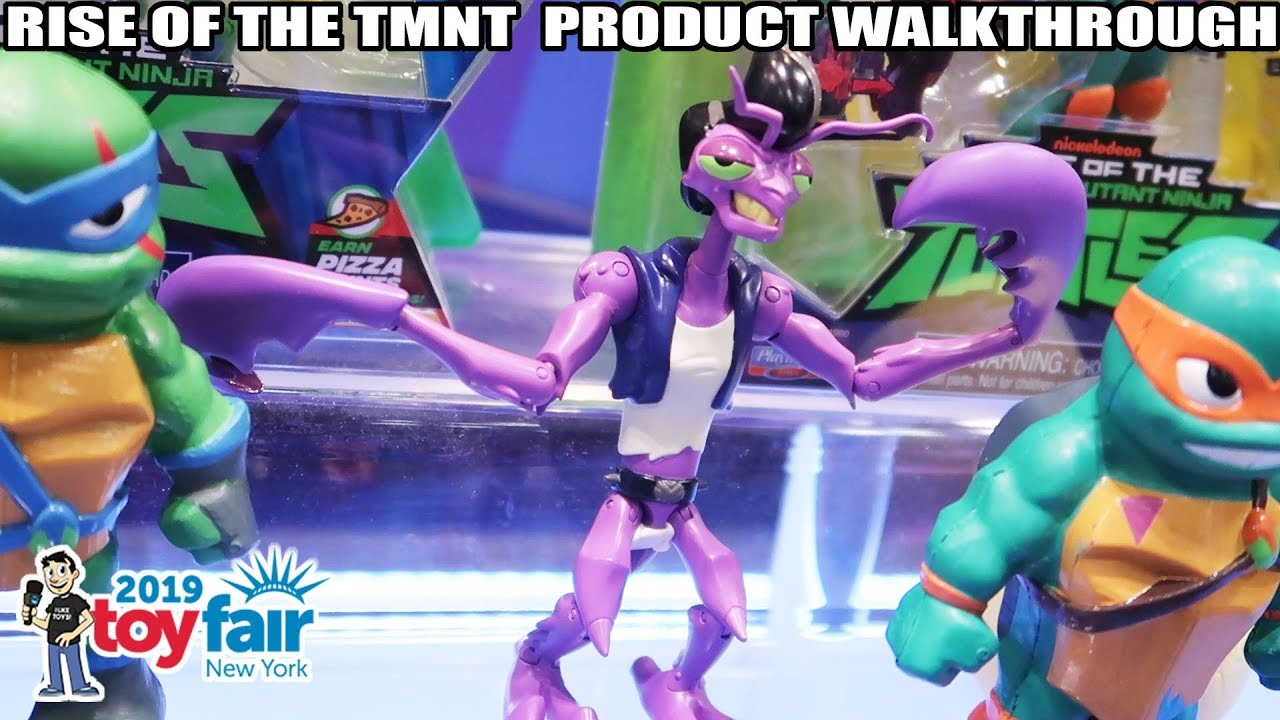 Rise of the TMNT Playmates Toys Product Walkthrough at Toy ...