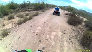 Desiree Riding Atv .. Bulldog Canyon A.z.2