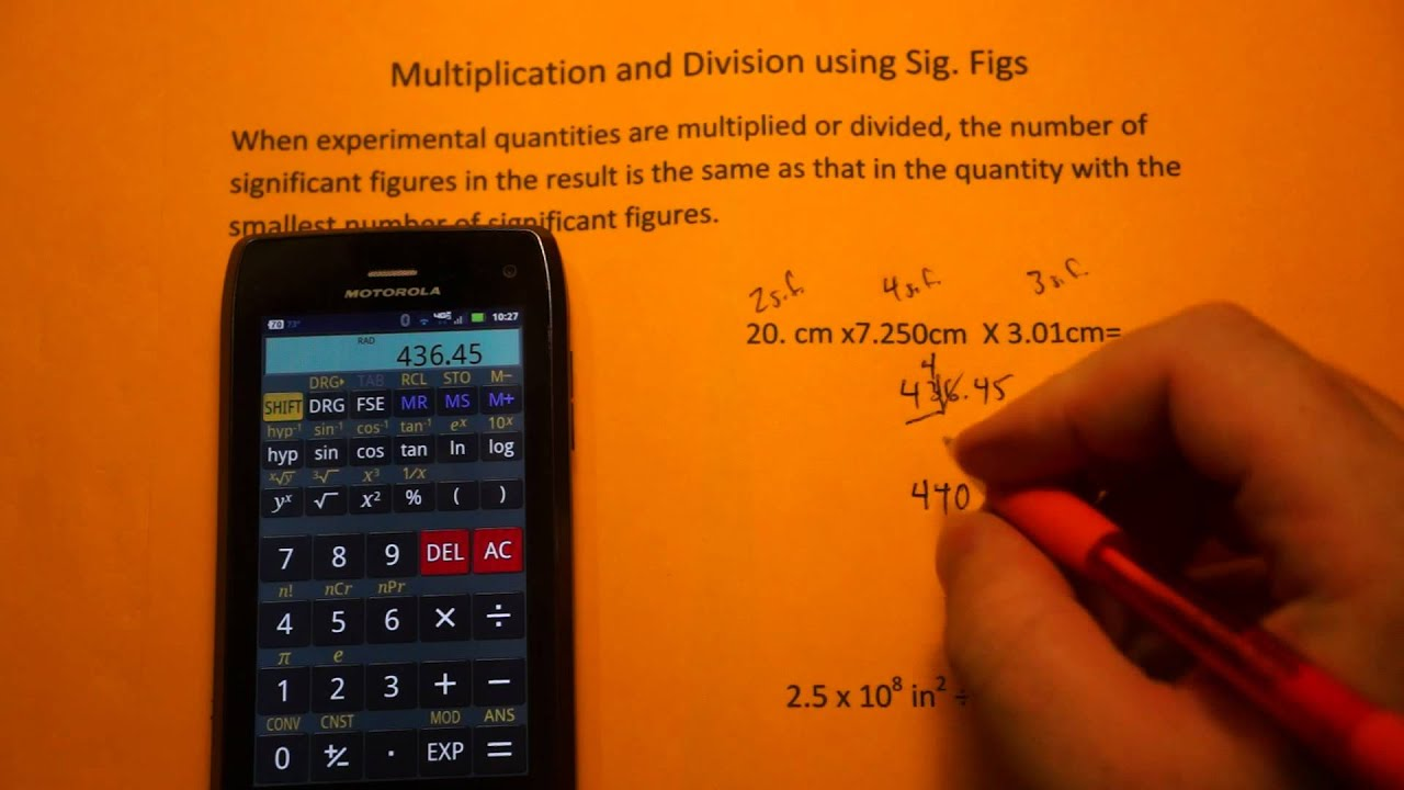 Calculations Using Significant Figures (Sig Figs)