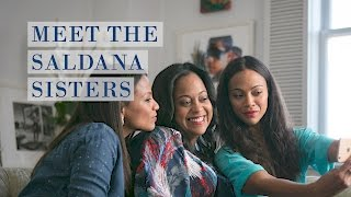 Meet the Saldana Sisters: Zoe Saldana, Mariel Saldana and Cisely Saldana