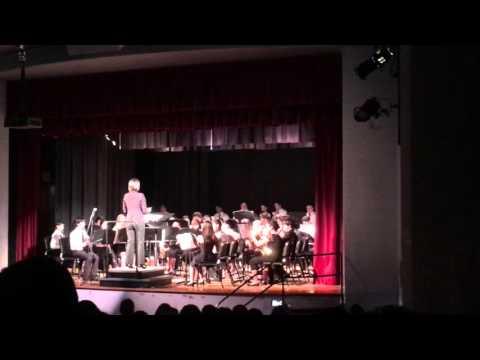 Brea Junior High School Intermediate Band Spring Concert 2016 Part 1