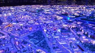 Огромный макет Москвы