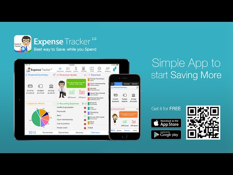 Expense Tracker 2.0 - Best way to Save, while you Spend