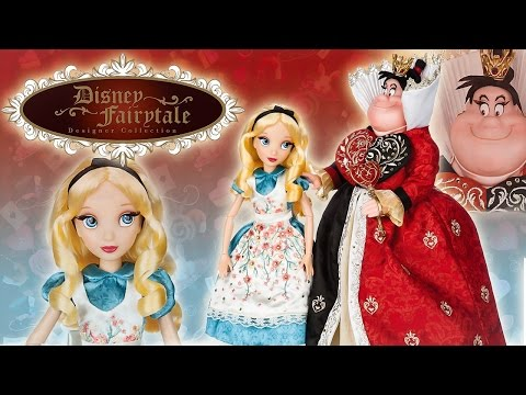 Disney Fairytale Designer Collection: Alice & Queen of Hearts REVIEW