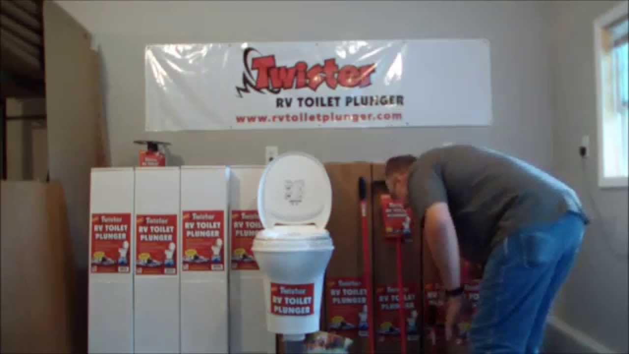 How To Unclog an RV Toilet - YouTube